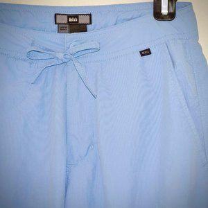 REI Cropped Nylon Drawstring Pants S Hiking Zip Fly UPF 50 Capri Quick Dry